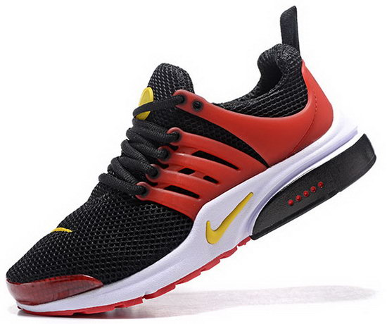 Mens & Womens (unisex) Nike Air Presto Black Red Yellow 36-46 Outlet Store